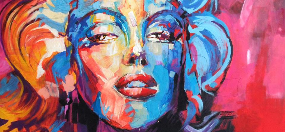 """Titel """"Marilyn Monroe"""""""